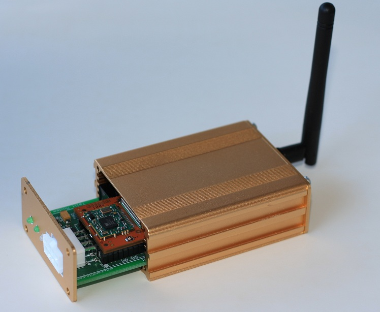 compact GSM modem with Dual Controller Area Network interface