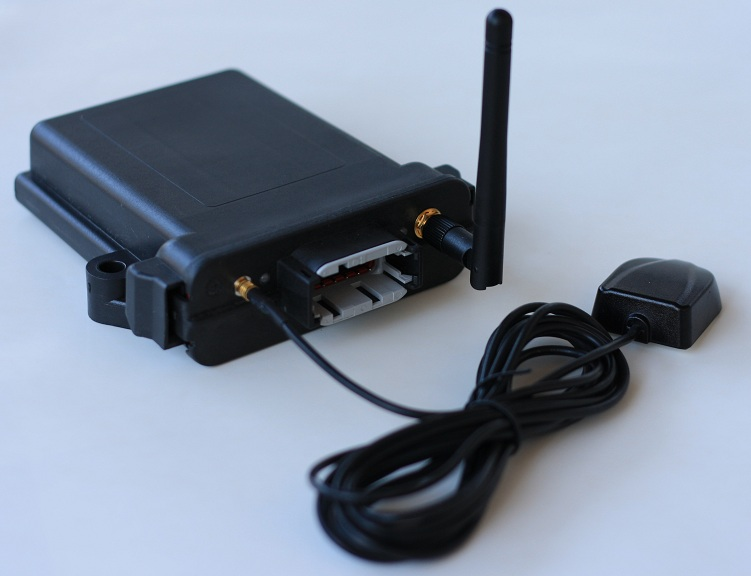 Dual CAN GSM modem with GPS